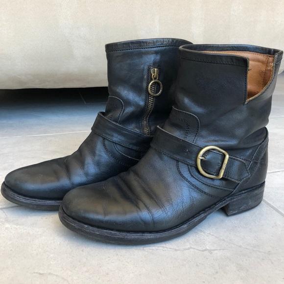 fiorentini baker buckle strap eli boots, Fiorentini + Baker